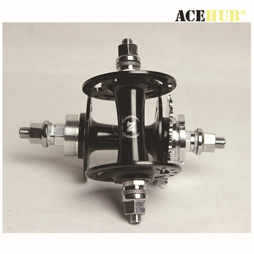 20/24, 32/32, 36/36 agujeros NOVATEC track hubs, piñón fijo para bicicletas de marcha única, A565SBT/A566SBT flip flop hub trasero