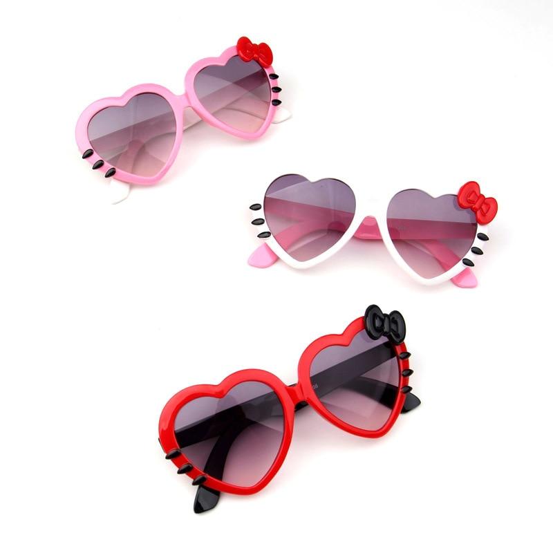 Children Heart Sunglasses Lovely Baby glasses For Boys And Girls Kids Sunglasses Shades For Children