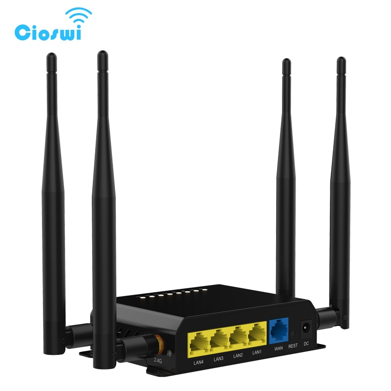 Router Wi Fi Watchdog Mit 4 Externe 5dBi Antennen 3G 4G LTE SIM Karte Wifi openWRT Fabrik Großhandel WE826-WD