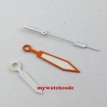 PLOPROF SUPER LUME оранжевые часы стрелки для подходит для miyota 8205 8215 821A mingzhu DG 2813 Чайка ST1612 TY2806 движение