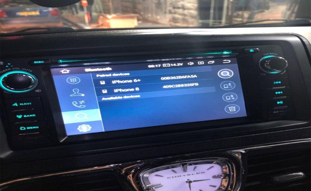 "32G 6,2 ""Octa-Core Android 9,0 S.O. especial DVD del coche para Chrysler PT Cruiser 2006-2012 y 300C 2010-2012 Grand Voyager 2001-2012"