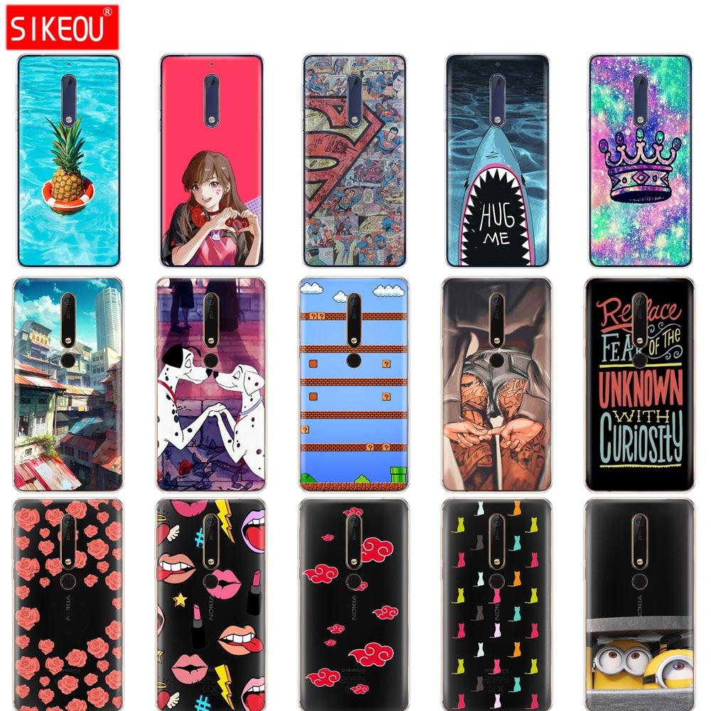 case for Nokia 5 3 6 7 8 9 2017 nokia 6 2018 6.1 3.1 2.1 5.1 TA-1033 case soft silicone tpu cover full 360 Protective Case