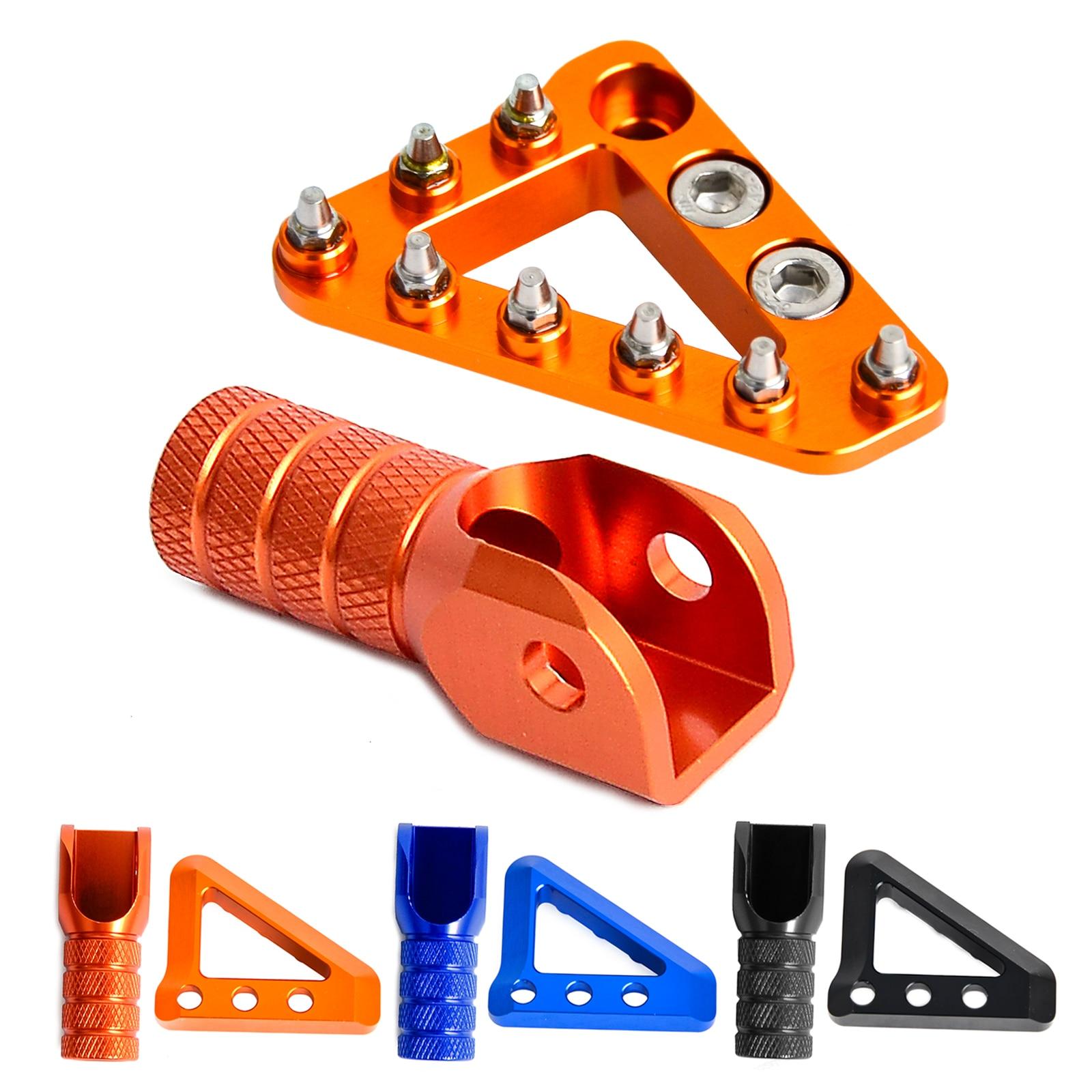 NICECNC pedal de freno trasero paso punta y palanca de cambio de marchas punta para KTM 125, 150, 200, 250, 300, 350, 400, 450, 500 SX SX-F EXC EXC-F XCW XC-F