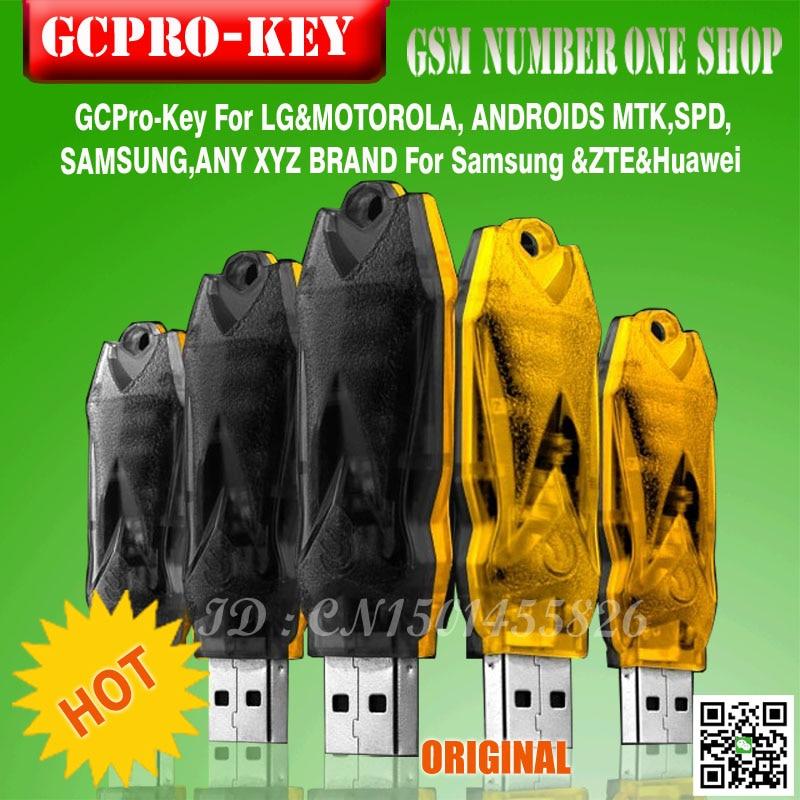 Gsmjustoncct 2019 оригинальный новейший ключ GC pro/GC PRO DONGLE от gpg работающий с телефона MTK key