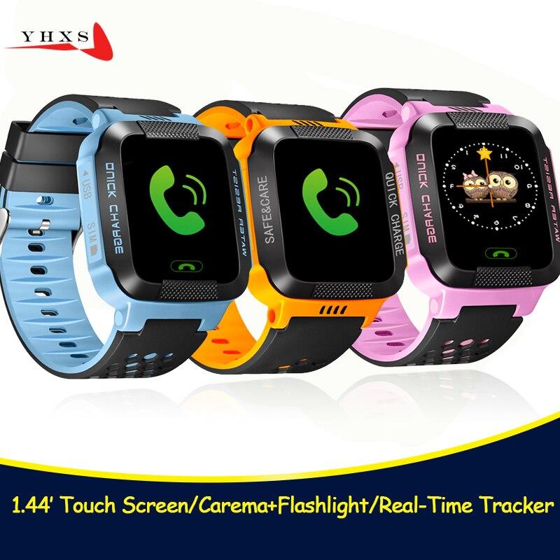 Pantalla táctil de 1,44 inteligente segura localización precisa seguimiento llamada de emergencia Monitor remoto reloj con linterna reloj de pulsera para niños Son Pk Q90