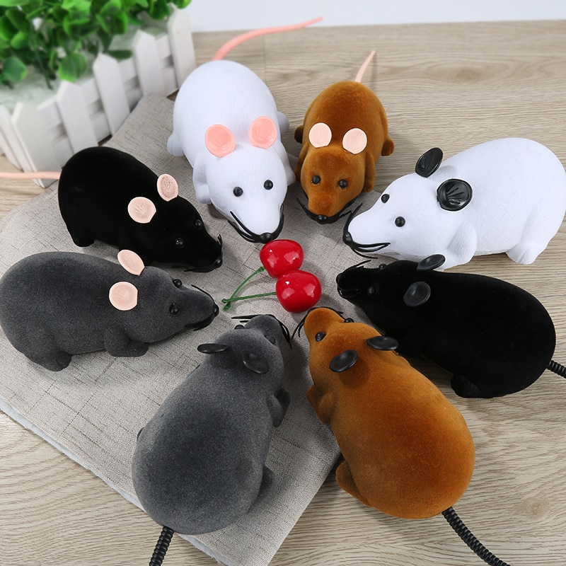Игрушка для кошек и мышей, беспроводная, с дистанционным управлением
