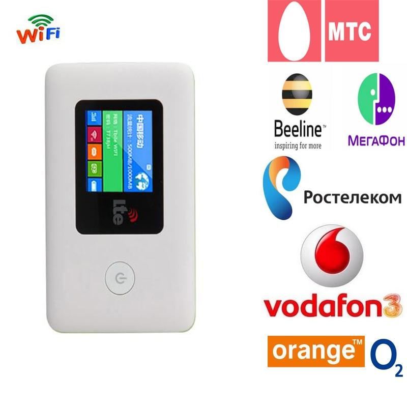 4G wifi роутер автомобильный мобильный Точка доступа беспроводной широкополосный Карманный Mifi разблокировка LTE модем беспроводной wifi удлинит...