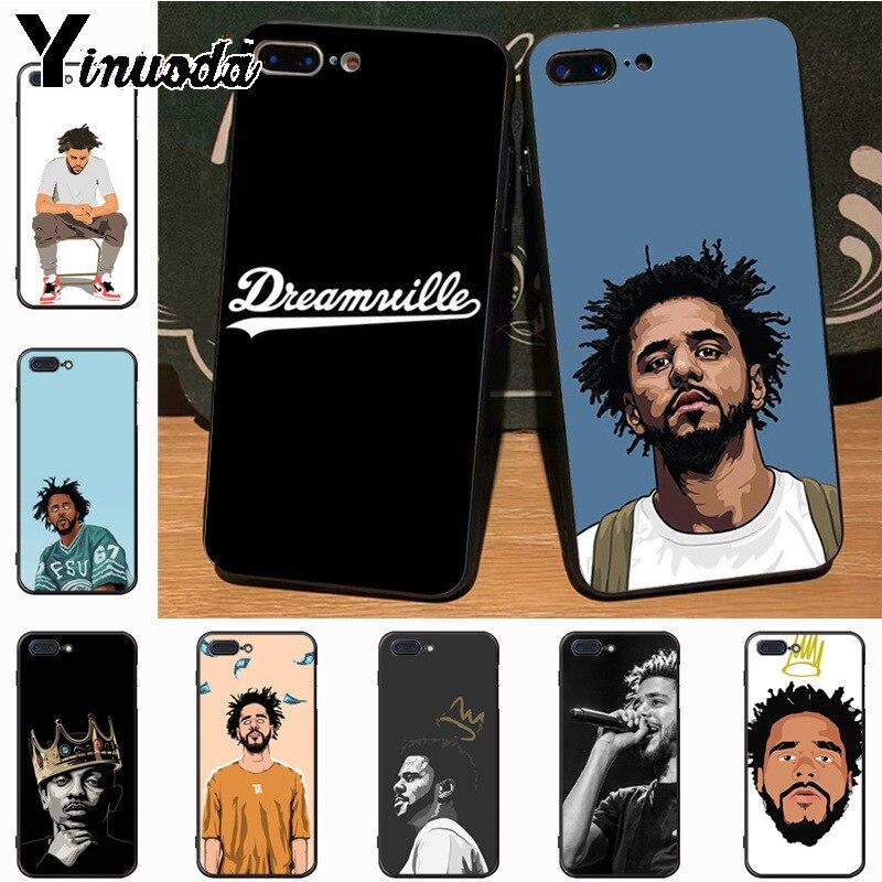Yinuoda Dreamville J. Новый роскошный модный чехол COLE для iPhone 8 7 6 6S Plus X 5S 11pro SE 5C xs чехол для MAX XR