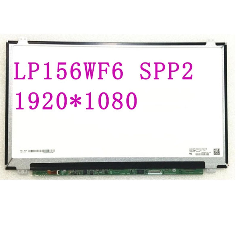 ЖК-экран для ноутбука LP156WF6 SPP2 SPP1 SPC1 SPH1 SPM1 SPN1 SPA1 SPK1 SPK2 SPJ1 1920*1080 EDP 30 контактов IPS