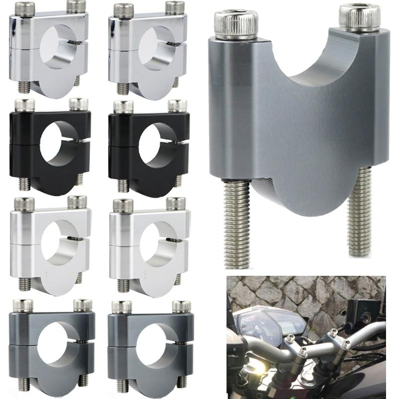 22mm elevadores de manillar abrazaderas para Honda CB400SS CB700 CB750 CB1100 CB250 doble codificador CB550 CB650 CB450 CB250 doble codificador