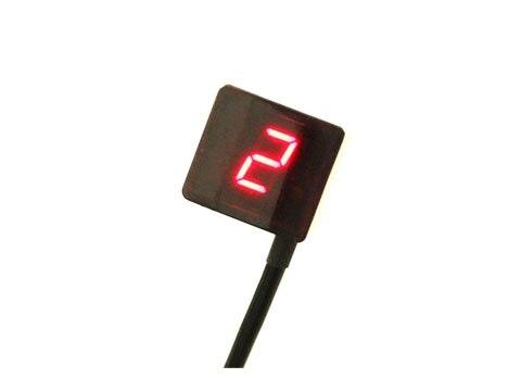 Универсальный цифровой индикатор переключения передач для мотоцикла с датчиком переключения передач красный светодиод от 1 до макс. 8