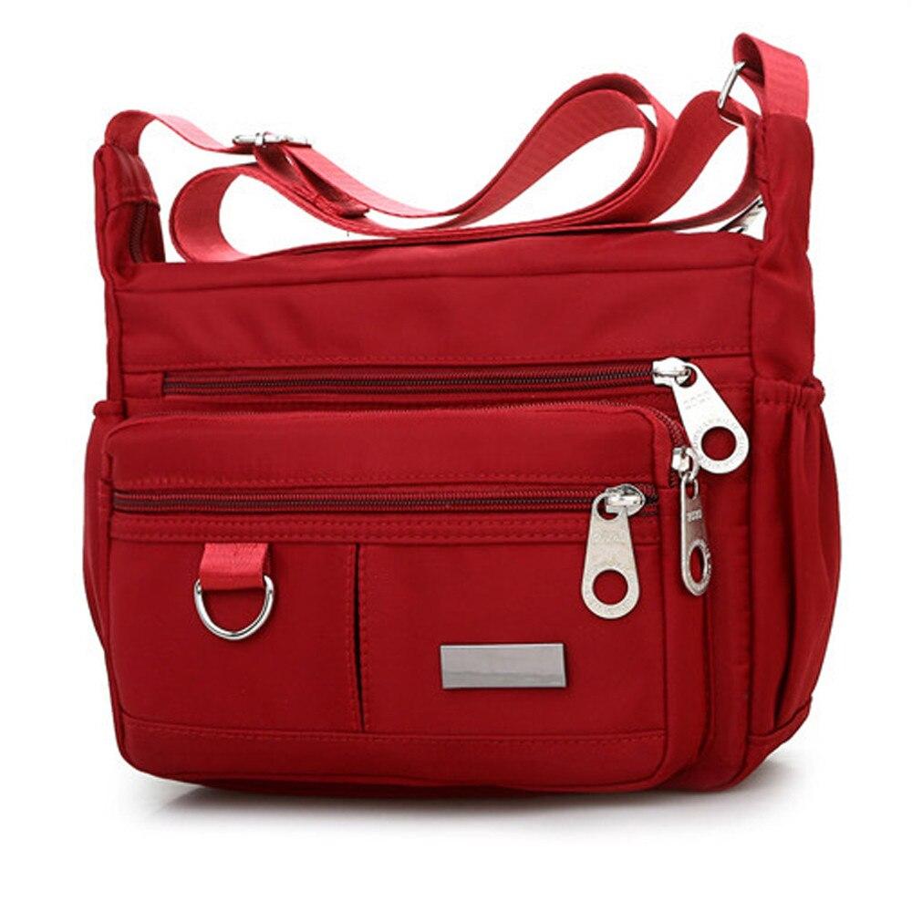 Moda à prova dwaterproof água náilon mulheres mensageiro sacos de alta qualidade feminino bolsa de ombro senhoras sacos crossbody bolsas bolsa saco y