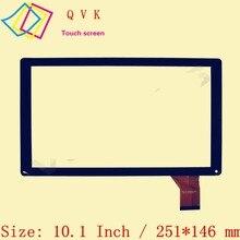10.1 pouce pour goastucieux QUANTUM 1010N  RS-MX101-V3.0  YTG-C10045-F1  YJ144FPC-V1  XC-PG1010-016-A1-FPC écran tactile FM103301K