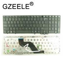 GZEELE US laptop keyboard FOR HP EliteBook 8540p 8540w US keyboard With Mouse Point Sticker black