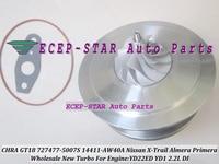Turbo CHRA Cartridge GT1849V 727477 14411-AW400 727477-5006S 727477-0005 For NISSAN X-Trail Almera Primera YD22ED YD1 YD22 2.2L