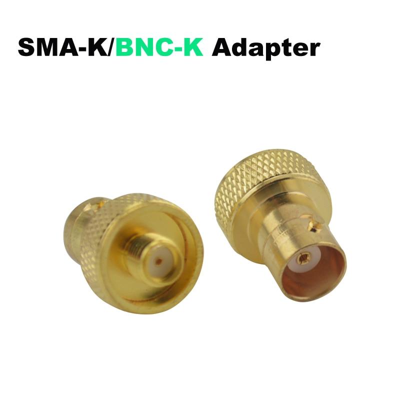 SMA-K (SMA Female)/BNC-K (BNC Female) jack Golden RF Adapter