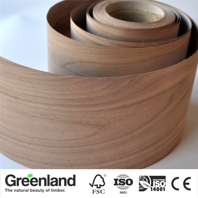 American Walnut(C.C) Natural Wood Veneers Flooring DIY Furniture Raw Material Chair Cabinet Doors Outer Skin Size 250x20cm