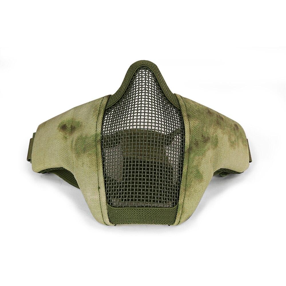PPT Тактический Для мужчин WST Стальная проволока Маска Пейнтбол Маска для охоты пейнтбол HS9-0068