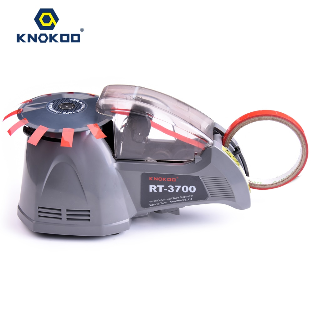 KNOKOO Automatic Dispenser RT-3700 Packing Tape Cutter,Adhesive Electrical Tape
