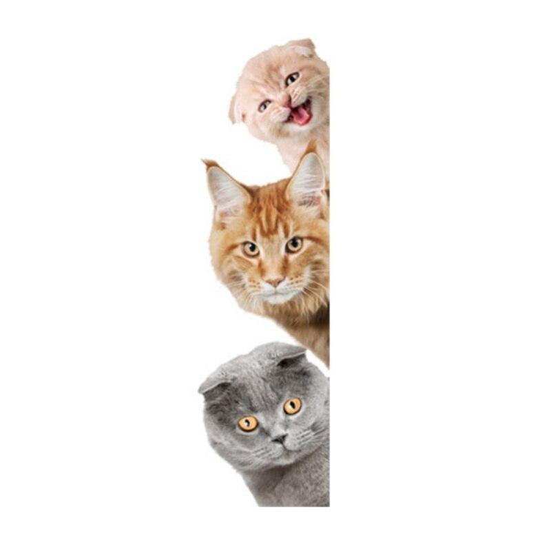 Dog Cat Cute Wall Stickers Fun Animals Pet Shop Home for Kids Waterproof Window 3D DIY Muursticker Stickers Muraux PVC Healthy