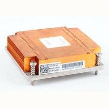 C1100 프로세서 히트 싱크 p/n tv8hd 0tv8hd c1100 방열판 x58 1366 핀 1u 서버 cpu 방열판 섀시 cpu 쿨러 냉각