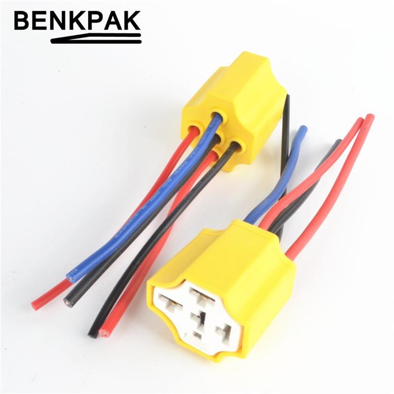 Ceramic Car relay holder,5 pins Auto relay socket 5 pin relay connector plug 10cm