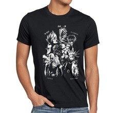 Heißer Verkauf Neue Männer T Shirt Anime Heroes Herren T-Shirt Goku Luffy Saitama Stück Sohn Punch Drachen Fee Ball Lustige O Neck T Shirt