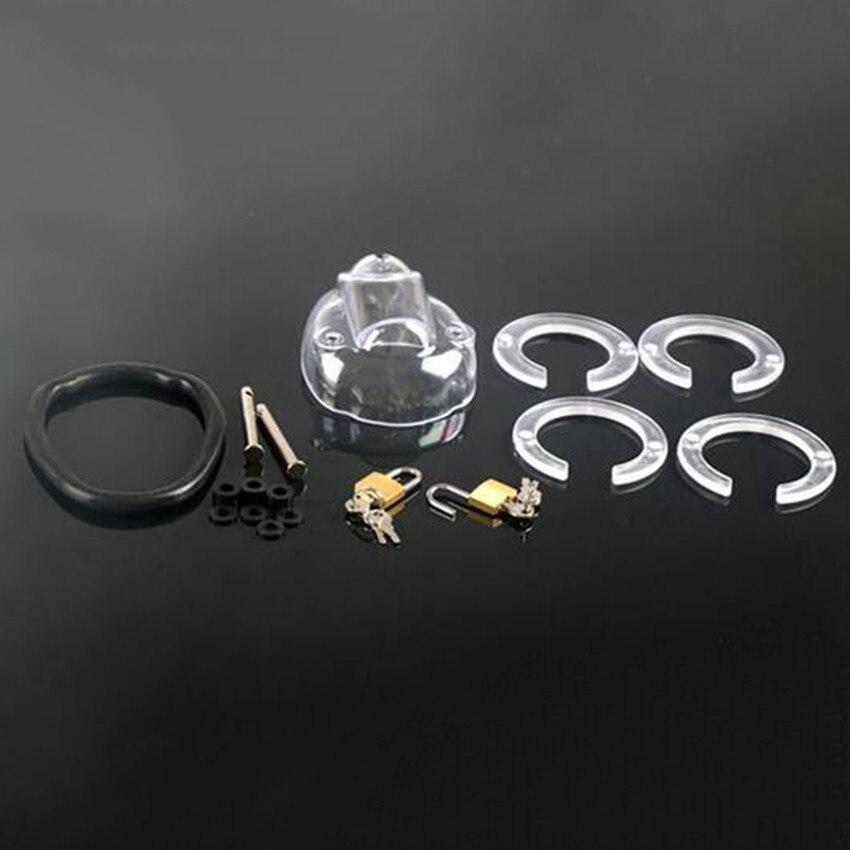 Dispositivo de Castidad masculino anillo para pene Polla jaulas de los hombres la virginidad cerradura pene bloqueo 2 anillo cinturón de castidad Zerosky