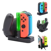 controller charger for nintendo switch charging dock stand station for switch joy con and pro controller w charging indicator
