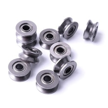 Roulements à billes scellés de largeur 4mm   Roulement en V à haute teneur en carbone, en acier 4*13*6mm, profondeur 1.5mm, nouveau modèle