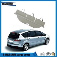 for s max s max 2007 2015 rear trunk security shield nylon polyester cargo cover high qualit auto accessories black beige
