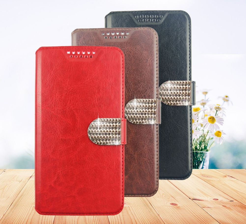 Wallet PU Leathe Case For DEXP B140 B145 B350 BS150 G150 G155 Flip Case Fashion protection shell