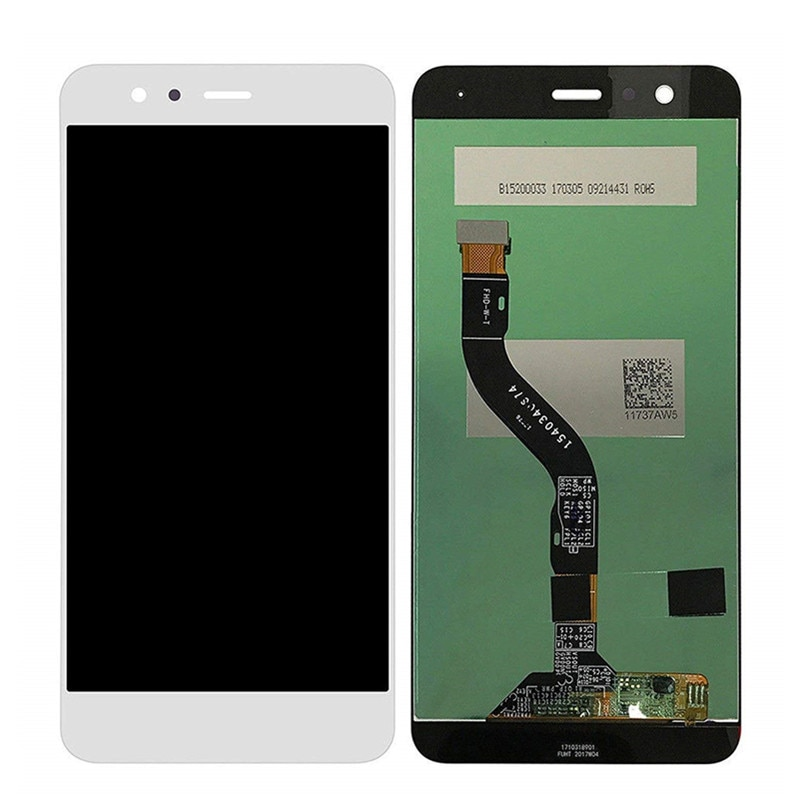 Para Huawei P10 lite WAS-LX2 WAS-LX1A WAS-LX3 WAS-L03T pantalla LCD de montaje de digitalizador con pantalla táctil de reemplazo con marco