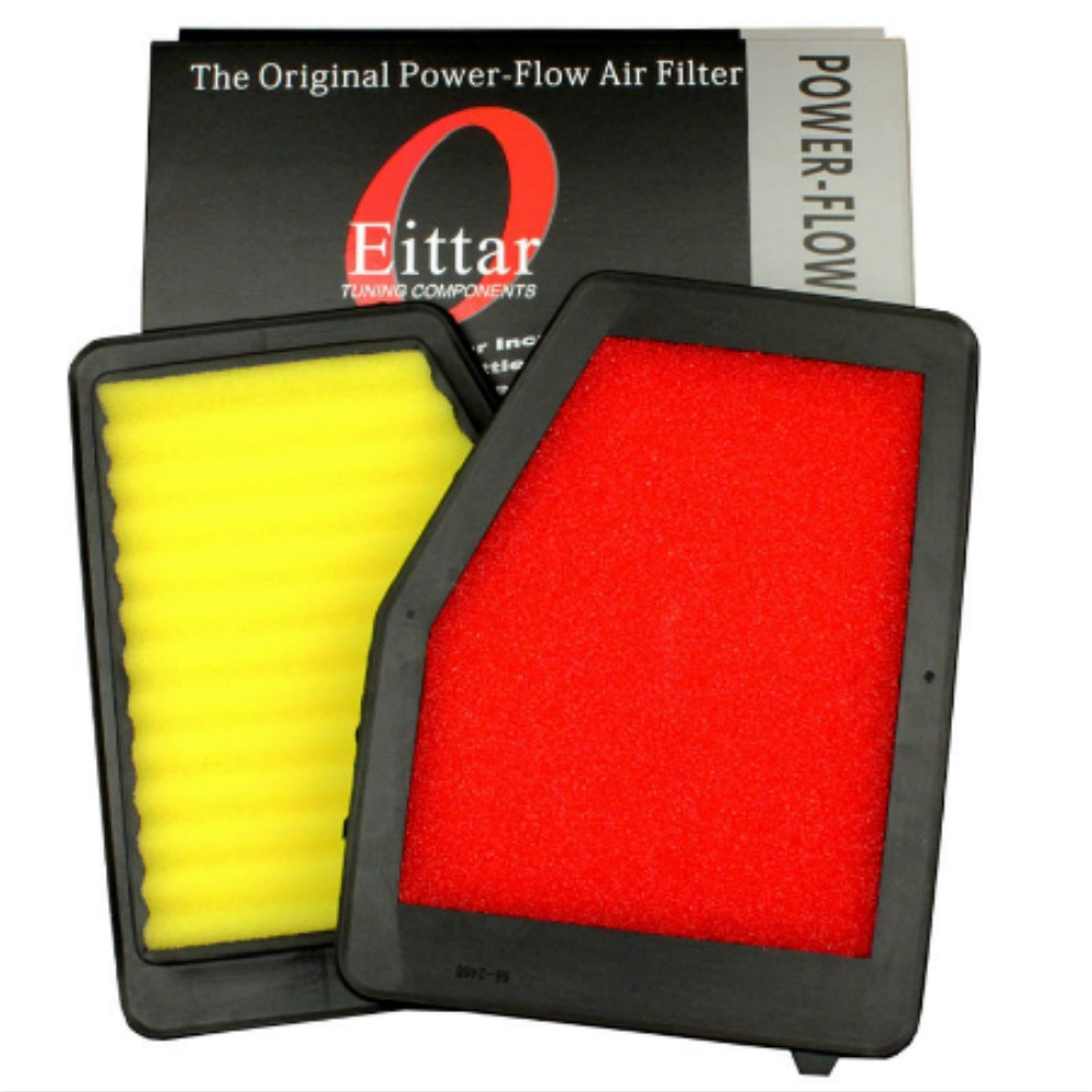 1Pcs Car Air Filter High Flow Air Filter Auto Super Hybrid Air Filters for HONDA CIVIC 1.8 2012-2015 ( match KN 33-2468 )