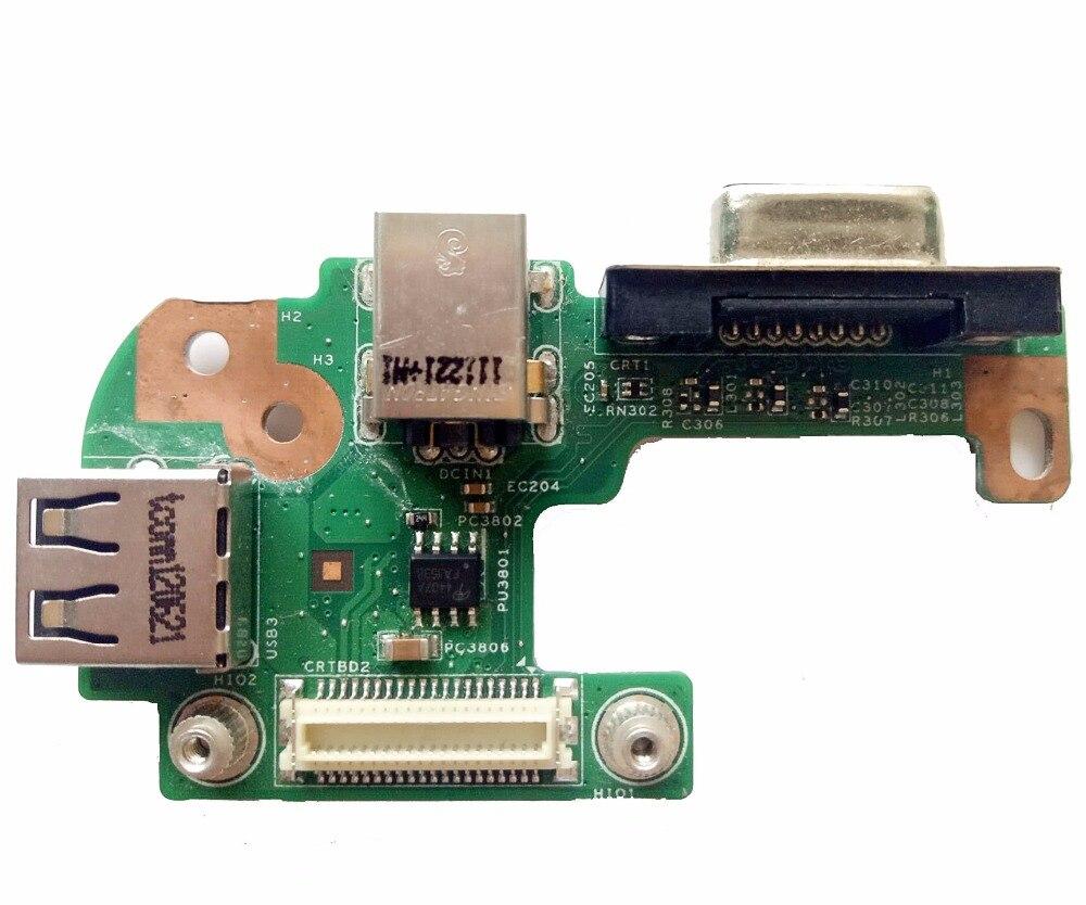 Reboto para Dell N5110 DC Power Jack puerto VGA USB2.0 DQ15DN15 CRT 48.4IF05! 021 48.4IF05! 011 100% probado envío rápido