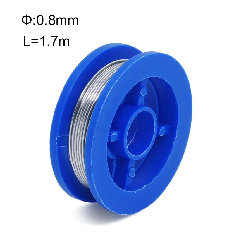 New Rosin Core Tin Lead 0.8mm Solder Soldering Welding Iron Wire Reel Welding High Quality