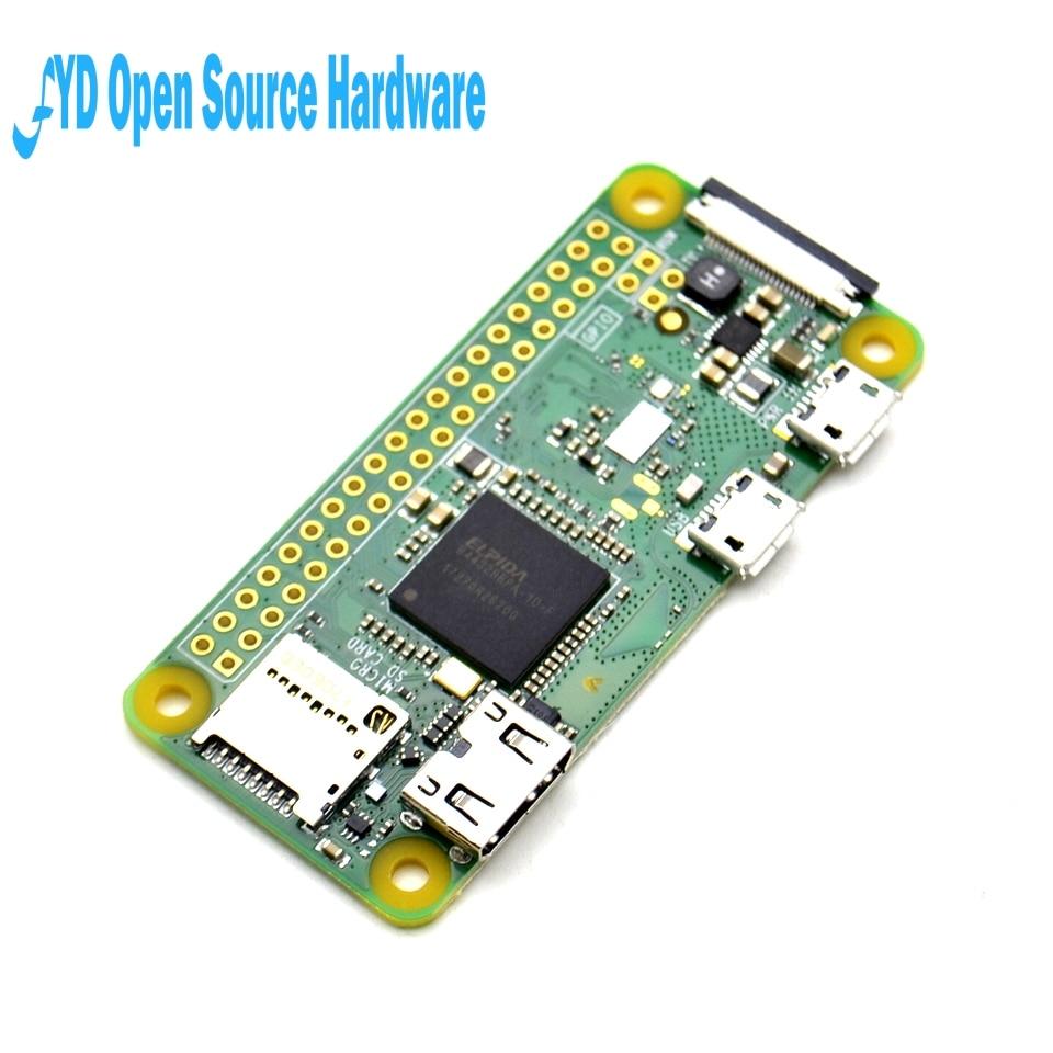 1 Uds frambuesa Pi Zero W placa 1GHz CPU 512MB RAM con construido en WIFI y Bluetooth RPI 0 W