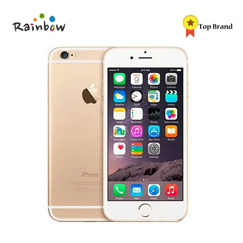 "Original Apple iPhone 6 Mobile Phone 16GB/64GB 4.7"" IPS IOS Dual Core 8MP 1080P WIFI 4G LTE Cell Phone"