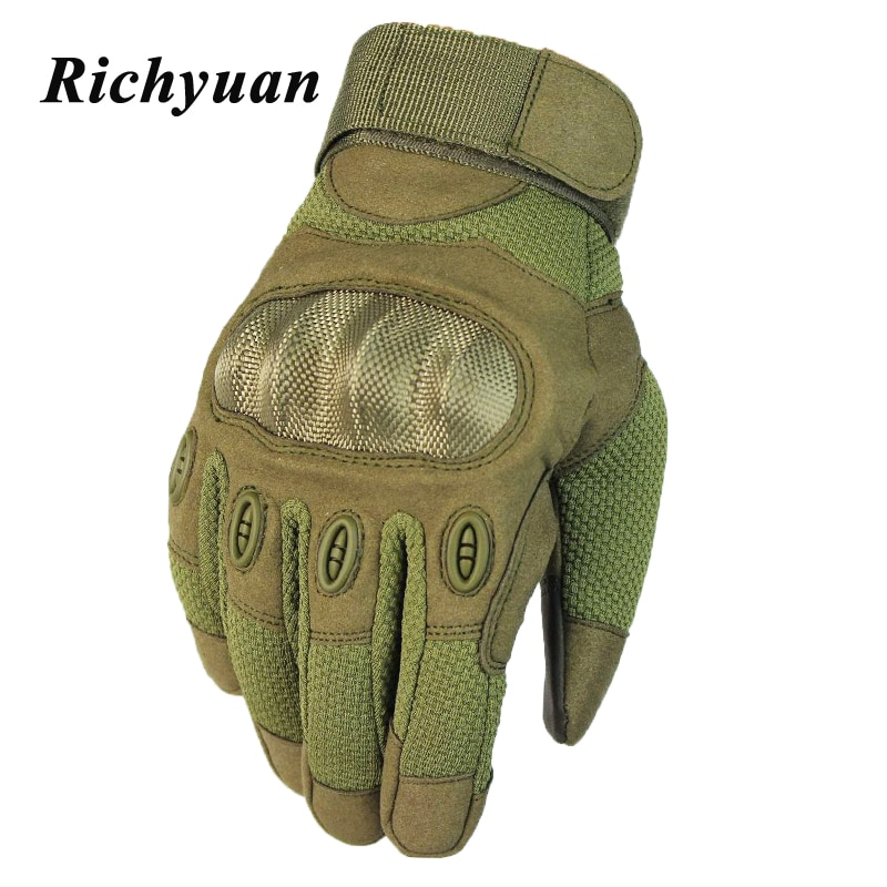 Touch Screen Motorcycle Skidproof Hard Knuckle Full Finger Gloves Protective Gear Cycling Sport Racing Riding Motocross ATV enlarge