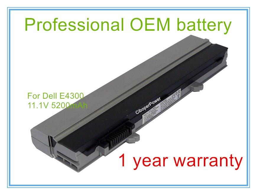 Batería para portátil batería ordenador portátil reemplazo para E4300 E4310 0FX8X 312-0822, 312-0823, 312-9955, 451-10636 de 451 -10638, 451-11459