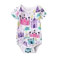 newborn bodysuit baby babies bebes clothes short sleeve cotton printing infant clothing 1pcs 0 24 months