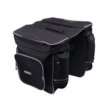 ROSWHEEL sac porte-vélo 30L porte-bagages arrière coffre vélo bagages siège arrière sacoche deux sacs doubles en plein air vélo selle stockage 1