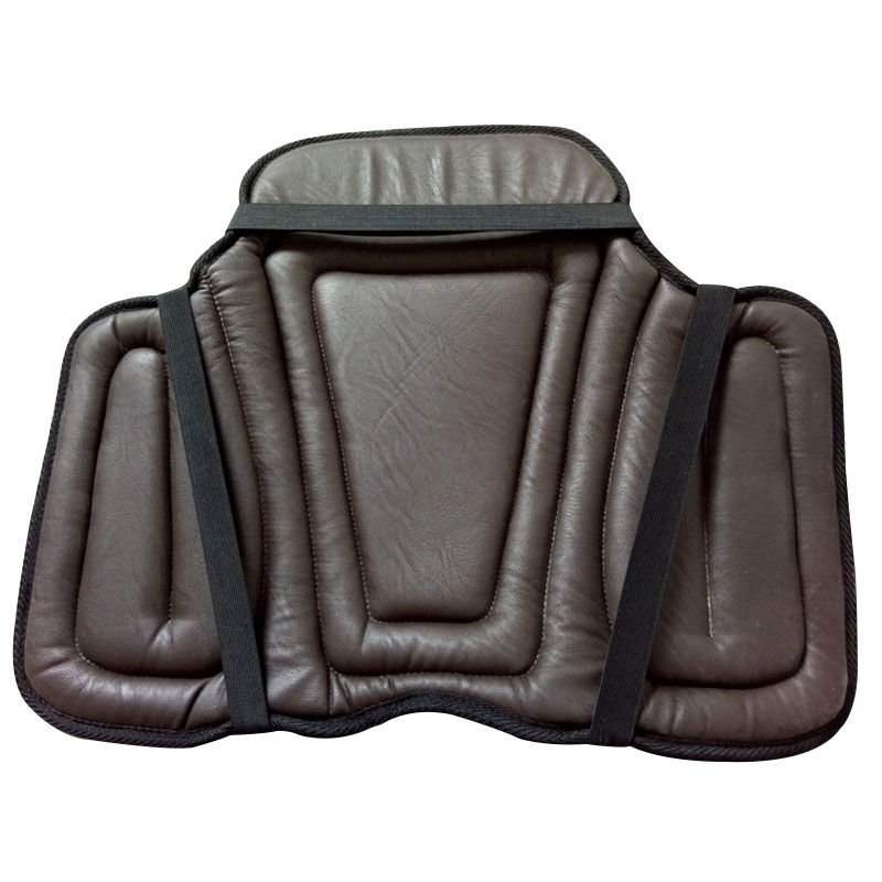 Equestrian PU Saddle Pads Black Horse Riding Saddle Pad Soft Seat Pad Horse Riding Racing Equipment Paardensport Cheval F aoud saddlery horse riding saddle pvc training saddle synthetic saddle endurance saddle with handle for safety color black brown
