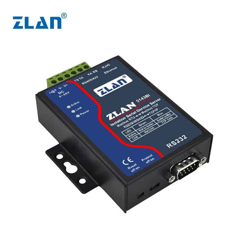 ZLAN5143BI المنفذ التسلسلي الخادم