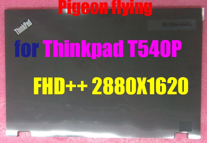 Para Thinkpad T540P W540 W541 cubierta LCD/carcasa inferior LCD FRU 04X6431 para FHD + + (2880 * 1620) 100% calidad Superior