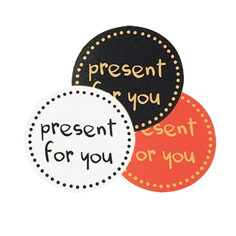 90-pz-lotto-vendita-calda-'presente-per-te'-etichette-adesive-di-design-sigilli-alimentari-adesivi-regalo-per-sigilli-di-nozze-bianco-nero-rosso-3-colori