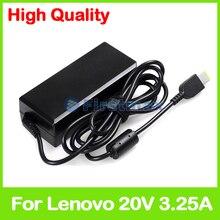 20 V 3.25A chargeur pour ordinateur portable adaptateur secteur pour Lenovo ThinkPad Yoga 11e Edge 15 Yoga 500-14ACL 500-14IHW 500-15IHW