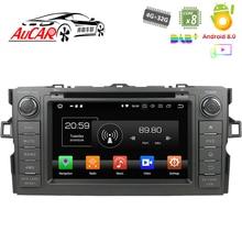 Écran tactile pour Toyota Auris voiture GPS   Lecteur dvd, système de lecteur multimédia, Radio Bluetooth HD WIFI 4G AUX, écran tactile 2 din
