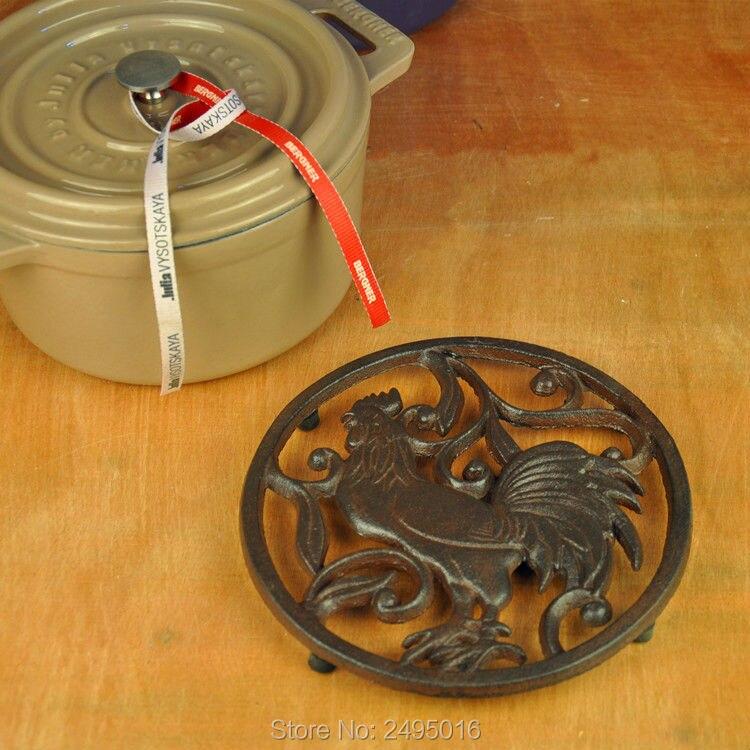 Dia 20cm(7.8 in)Pot Holder For Cast Iron Tea Pot Set Teapot Tetsubin Kettle Drinkware  Heat Insulation Pad For Dining Table