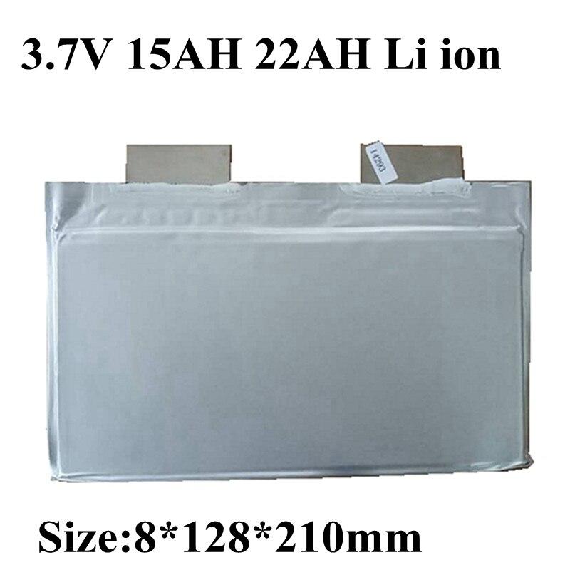 3 uds capacidad Real 3,7 v 15Ah 22Ah pilas de litio recargables 8128210 2C descarga para herramientas de batería RC de energía del automóvil